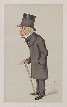 George Biddell Airy caricatured by Spy in Vanity Fair Nov 1875 Source: Wikimedia Commons
