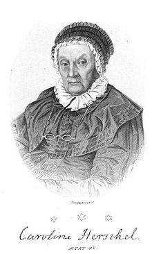 Caroline Herschel at age 92