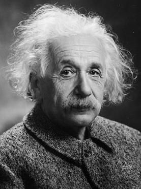 """I am no Einstein,"" Einstein once said. On top of all his other qualities, the man was modest. Photo by Oren Jack Turner courtesy Wikimedia Commons."
