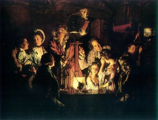 Joseph Wright of Derby, An Experiment on a Bird in the Air Pump (1768)
