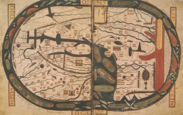 The Mappa Mundi of Saint Beatus of Liébana (c.730 – c.800)
