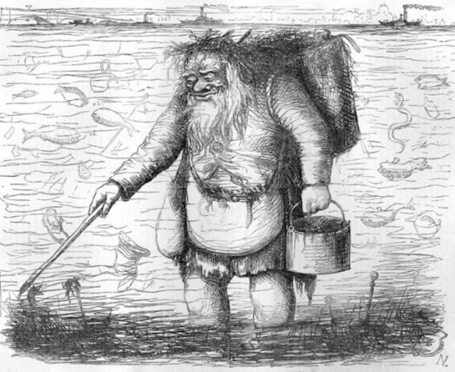 Dirty Father Thames comes from a poem in Punch magazine, in 1848.