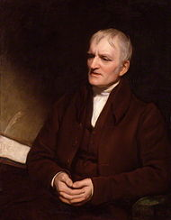 Dalton in later life by Thomas Phillips, National Portrait Gallery, London (1835). Source: Wikimedia Commons