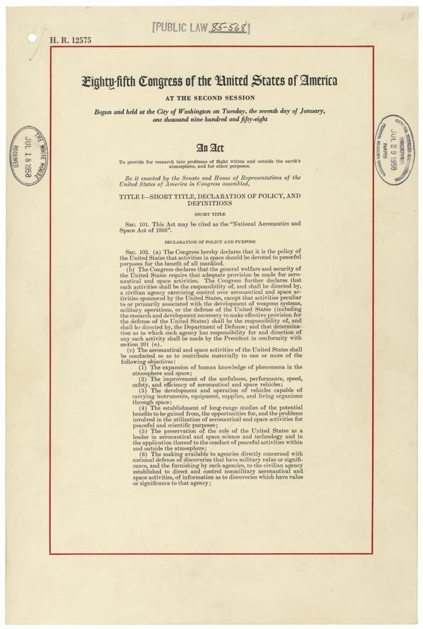 NASA Law