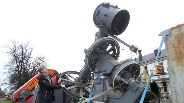 The historic Brashear telescope will be the centrepiece of the new Astronomy Centre built by Earth and Sky near the shore of Lake Tekapo. Source: The Timaru Herald