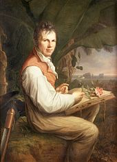 Portrait of Alexander von Humboldt by Friedrich Georg Weitsch, 1806 Source: Wikimedia Commons