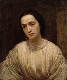 Painting of Julia Margaret Cameron by George Frederic Watts, c. 1850-1852 Source: Wikimedia Commons
