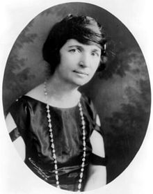 Margaret Sanger in 1922 Source: Wikimedia Commons