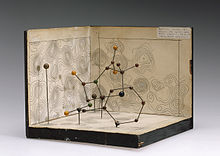 Molecular model of penicillin by Dorothy Hodgkin, c. 1945 Source: Wikimedia Commons
