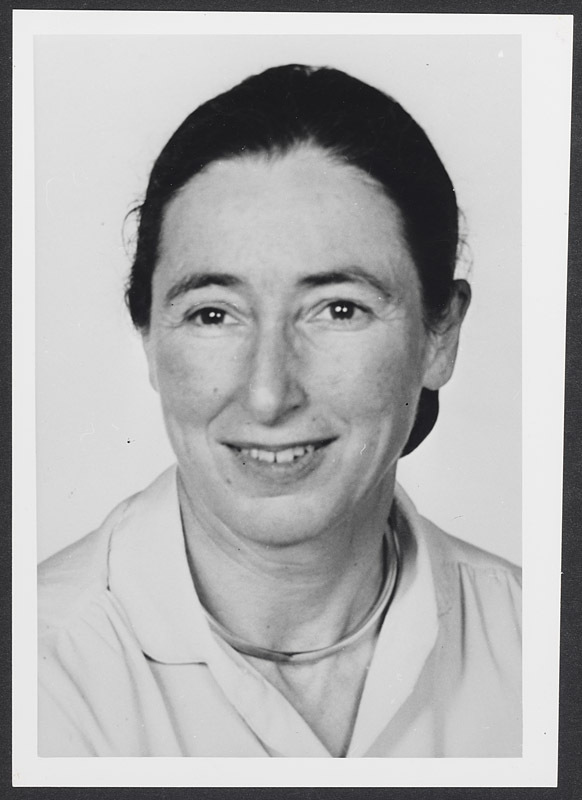 Photograph of Anne Pappenheimer Forbes, M.D. 1962