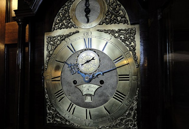 The Grandfather Clock at Mount Grace Priory Source: English Heritage