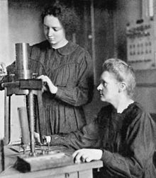 Irène and Marie Curie Source: Wikimedia Commons
