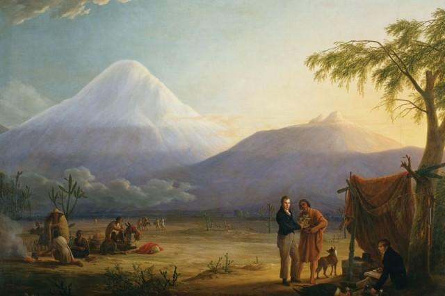 Humboldt's trip to South America inspired Darwin to join the Beagle (Image: BPK/SPSG, Berlin-Brandenburg/Hermann Buresch)