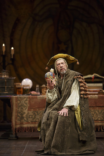 Stephen Ouimette at Subtle, the pseudo-alchemist, in the 2015 production at the Stratford Shakespeare Festival.