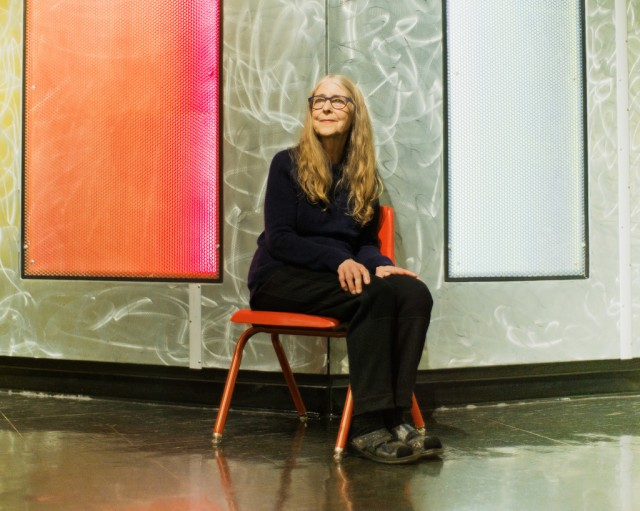 Margaret Hamilton at the MIT Museum in Cambridge, MA. Photo: HARRY GOULD HARVEY IV FOR WIRED