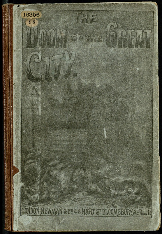 Front cover of Hay's The Doom of the Great City Source: The British Library