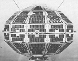 The Alouette 1 satellite Source: Wikimedia Commons