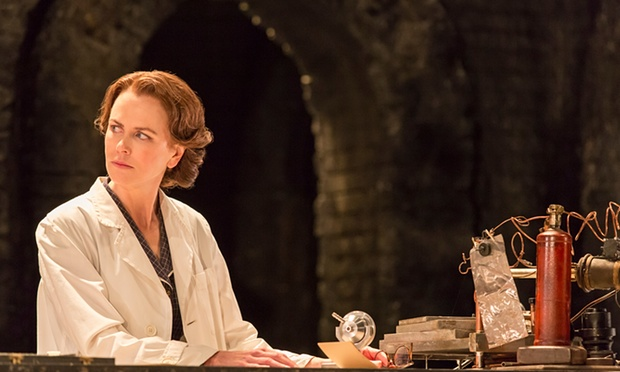 Nicole Kidman as Rosalind Franklin Photograph: Johan Persson/Johan Persson Source: The Guardian