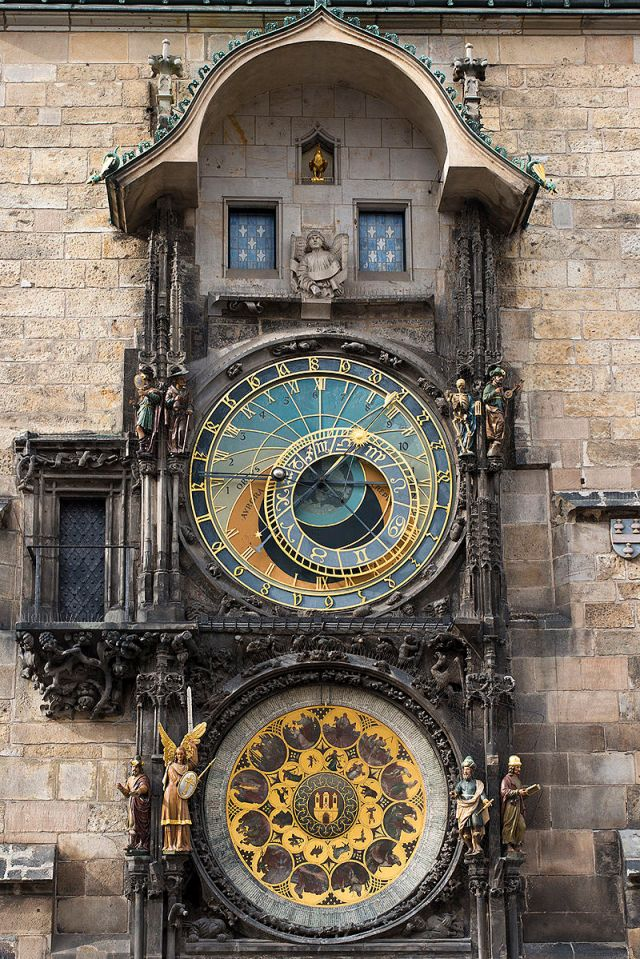 Prague astronomical clock Source: Wikimedia Commons