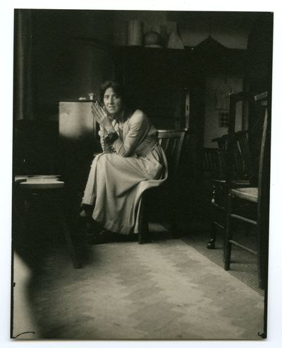 Marie Stopes (1880-1958) photographed by George Bernard Shaw. (LSE Archives Image Record, 1921).