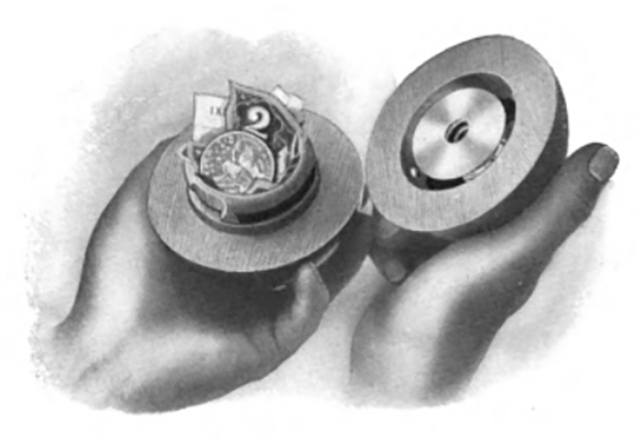 Inside the Lamson ball, from a 1912 Lamson catalogue. (Image: Tony Wolf)