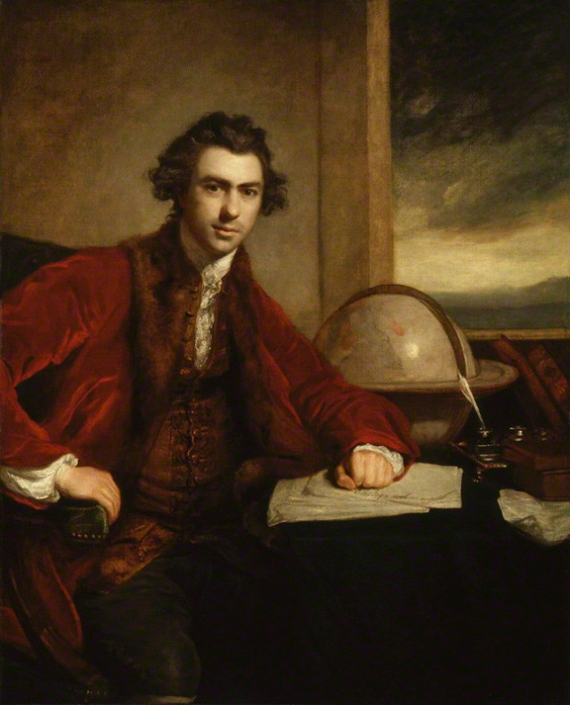 Sir Joseph Banks, as painted by Sir Joshua Reynolds in 1773 Source: Wikimedia Commons