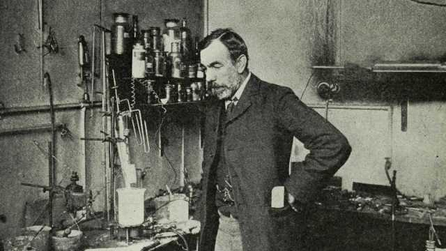William Ramsay in 1904 (Munn & Co./Appleton's Magazine)