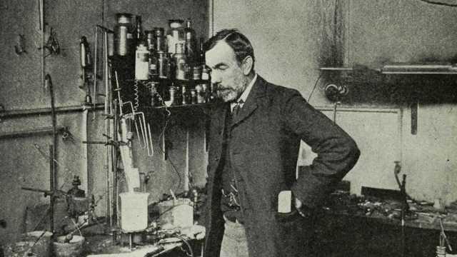 William Ramsay in 1904 (Munn & Co./Appleton's Magazine)