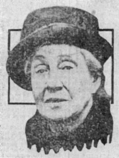 Ruth Belville in the Evening News, 1929.