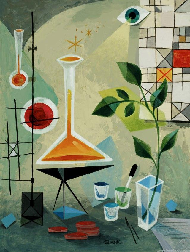 Don Shank: Laboratory Still Life 1