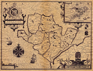 Anglesey by John Speed 1610 Public Domain Wikimedia