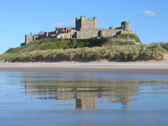 Bamburgh Castle Source: Wikimedia Commons