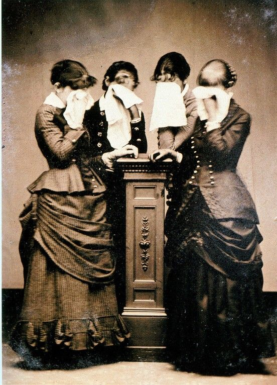 1887 Victorian Mourning
