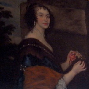 Katherine Jones, Lady Ranelagh: portrait in Lismore Castle Picture courtesy of Michelle DiMeo