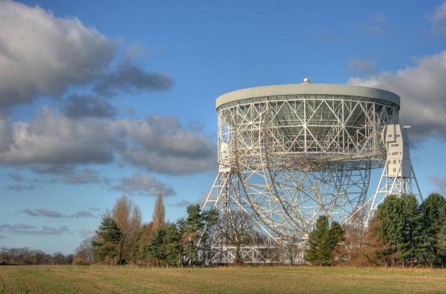 Lovell Telescope, Jodrell Bank Observatory Source: Wikimedia Commons