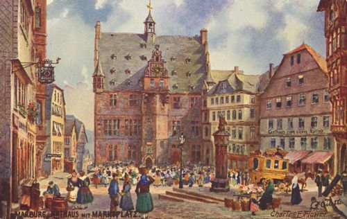 Marburg, Issel's native city, at the turn of the 20th c.