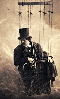 Nadar Self-Portrait in Balloon