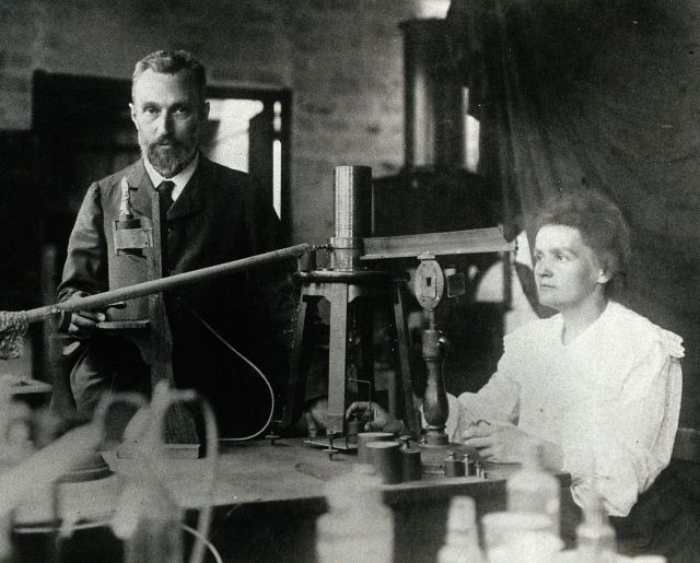 Pierre and Marie Curie Source: Wikimedia Commons