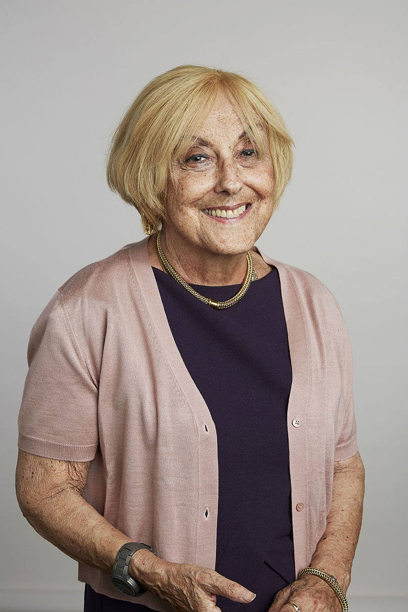 File general gary edward luck jpeg wikimedia commons - Professor Lisa Jardine In 2015 Portrait From The Royal Society Source Wikimedia Commons