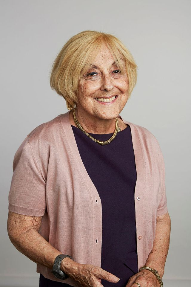 Professor Lisa Jardine in 2015, portrait from the Royal Society Source: Wikimedia Commons