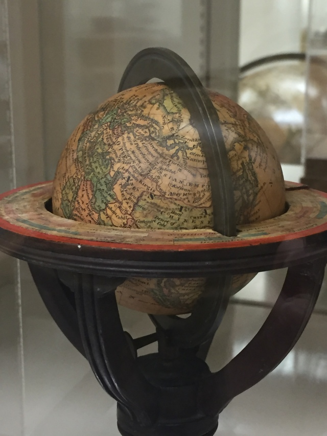 Wilson's three inch terrestrial globe, 182-. Geography & Map Division, Library of Congress.