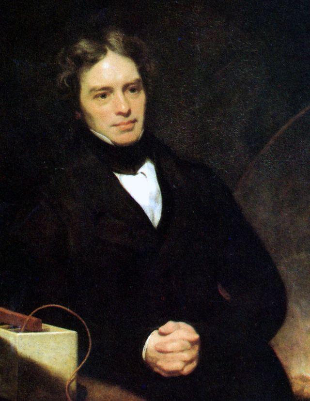 Michael Faraday by Thomas Phillips oil on canvas, 1841-1842  NPG Source: Wikimedia Commons