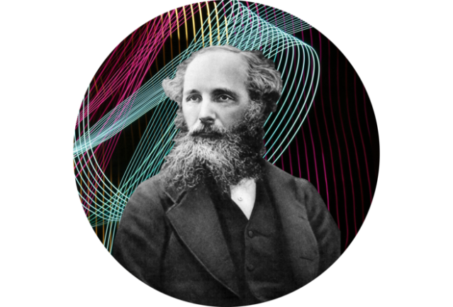 Mathematician and poet James Clerk Maxwell. CREDIT: SPL/ GETTY IMAGES/ (BACKGROUND) SOLA