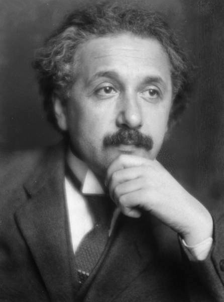Albert Einstein developed the theories of special and general relativity. Picture from 1921. Source: Wikimedia Commons