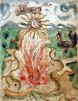 "Antonio Neri, ""The Mineral Gold"" Neri 1598-2000 (Ferguson 67), f. 5r."