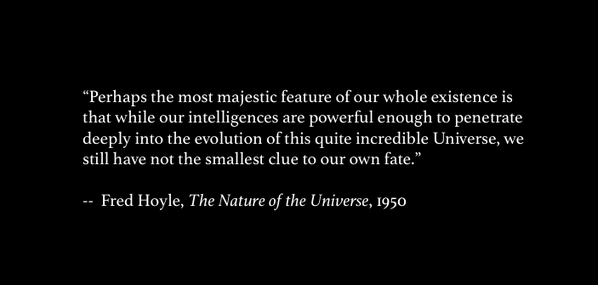 Hoyle quote