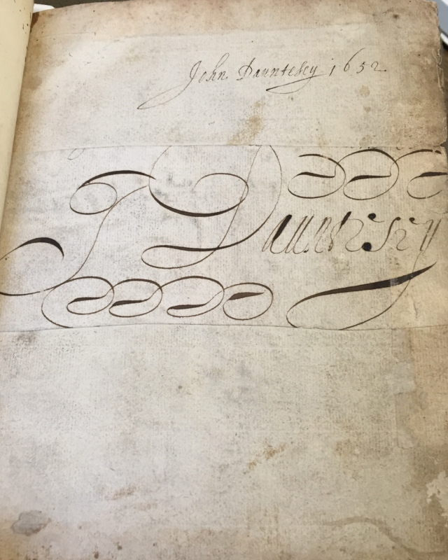 The Historical Medical Library of the College of Physicians of Philadelphia, Manuscript MSS 2/0070-01 (Signature Page), Photo included with permission.