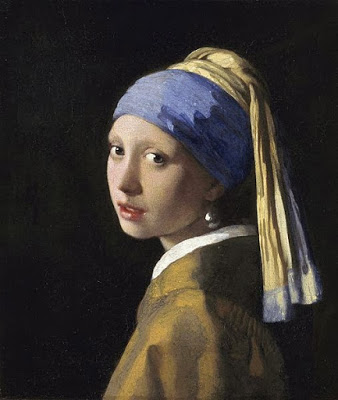 "Johannes Vermeer ""Girl with a pearl earring"" (1665-6)"