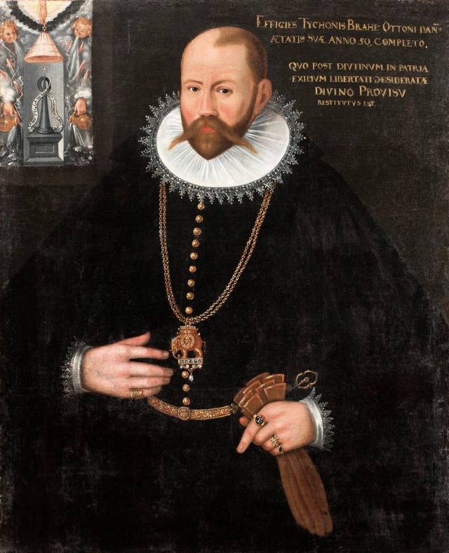 Tycho Brahe (1596) Artist unknown Source: Wikimedia Commons