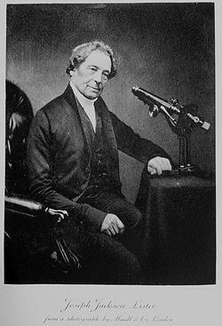 Joseph Jackson Lister Source: Wikimedia Commons